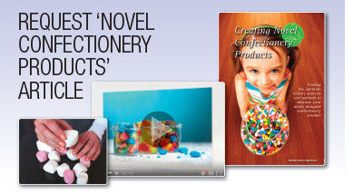 Request 'Novel confectionery products' article