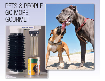 Pets & people go more gourmet