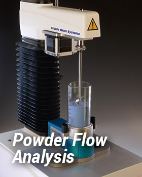 Powder Flow Analyser