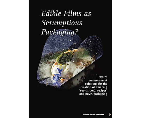 Edible Films as Scrumptious Packaging? article