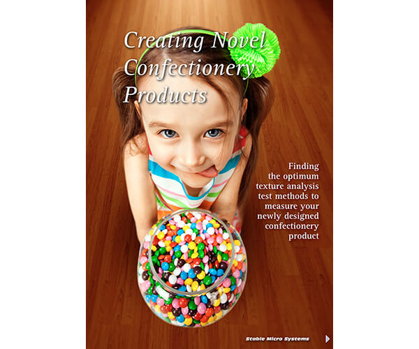 Creating Novel Confectionery Products article