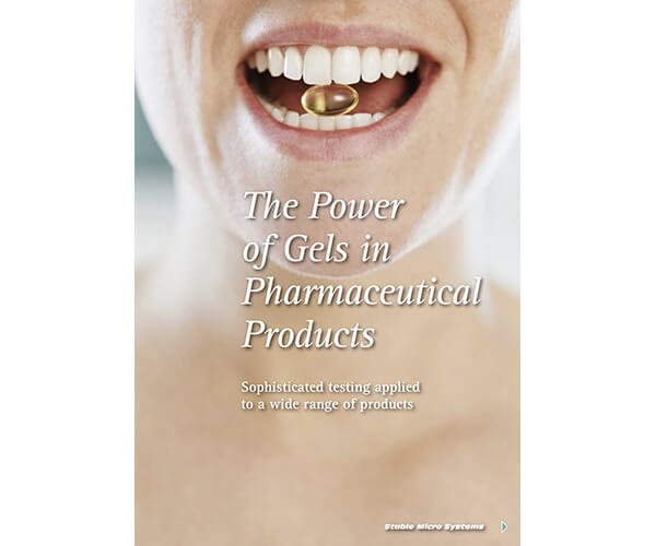 The Power of Gels in Pharmaceutical Products article