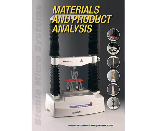 Materialss applications brochure