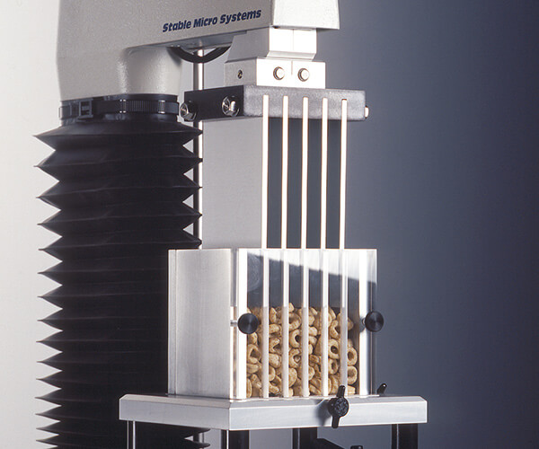 Kramer Shear Cell test on cereal sample