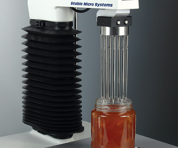 Multiple Puncture Probe test on marmalade