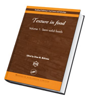 Texture in Food Volume 1