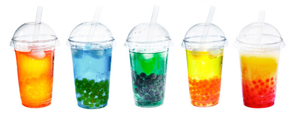 Bubble drinks