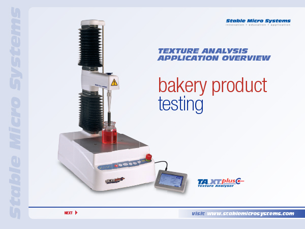 Bakery products overview